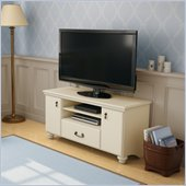 South Shore Dover Collection TV Stand in Ivory