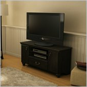 South Shore Dover Collection TV Stand in Ebony