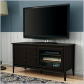 South Shore Crescendo TV Stand in Chocolate