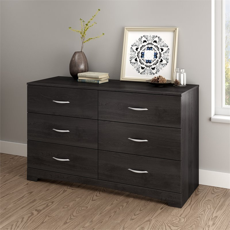 South Shore Maddox Dresser in Gray Oak