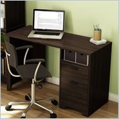 South Shore Theory Desk in Mocha