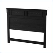South Shore Tryon Full/Queen Headboard in Black Oak