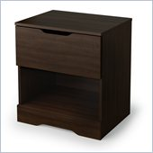 South Shore Trinity Nightstand in Mocha