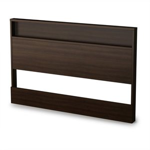 South Shore Trinity Full/Queen Panel Headboard in Epresso