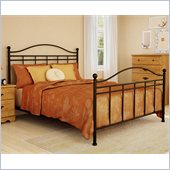 South Shore Prairie Complete Queen Size Metal Bed (60'') in Bronze