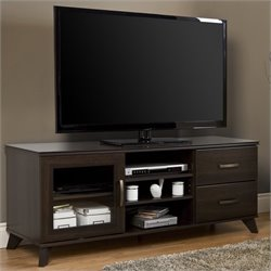 South Shore Caraco TV Stand in Mocha
