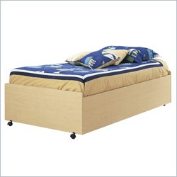 South Shore Newton Kids Bed On Casters Picture