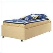 South Shore Newton Kids Bed on Casters