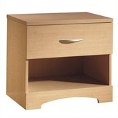 South Shore Copley Nightstand in Natural Maple