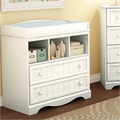 South Shore Andover Changing Table in White Finish