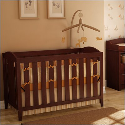 South Shore Crib in Royal Cherry Finish