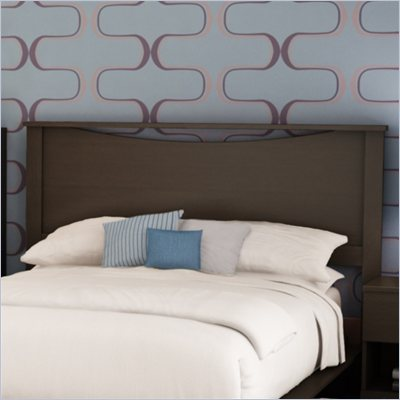 South Shore Back Bay Full/Queen Headboard in Dark Chocolate