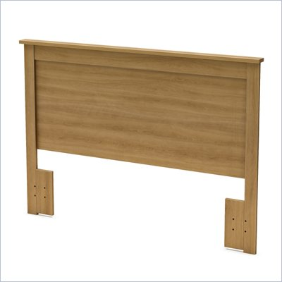 South Shore Breakwater Full/Queen Headboard in Harvest Maple
