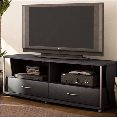South Shore City Life 50&quot; Black TV Stand