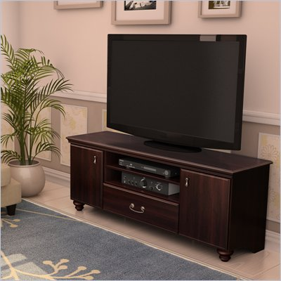South Shore Dover 60&quot; TV Stand in Dark Mahogany