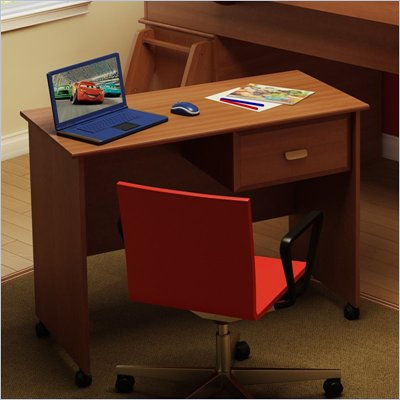 South Shore Imagine Kids Wood Student Desk in Morgan Cherry Finish