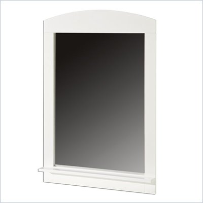 South Shore Logik Pure White Mirror