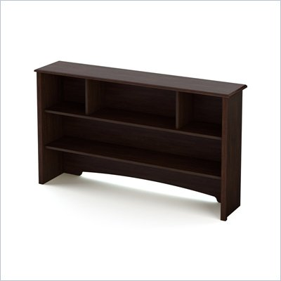 South Shore Nathan Dresser Hutch in Havana Finish
