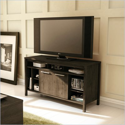 South Shore Spirit TV Stand in Ebony