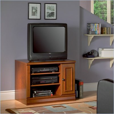 South Shore Stratham One Door TV Stand in Classic Cherry Finish