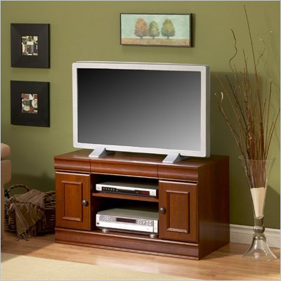 South Shore Classic Vintage Collection Widescreen TV Stand in Cherry Finish