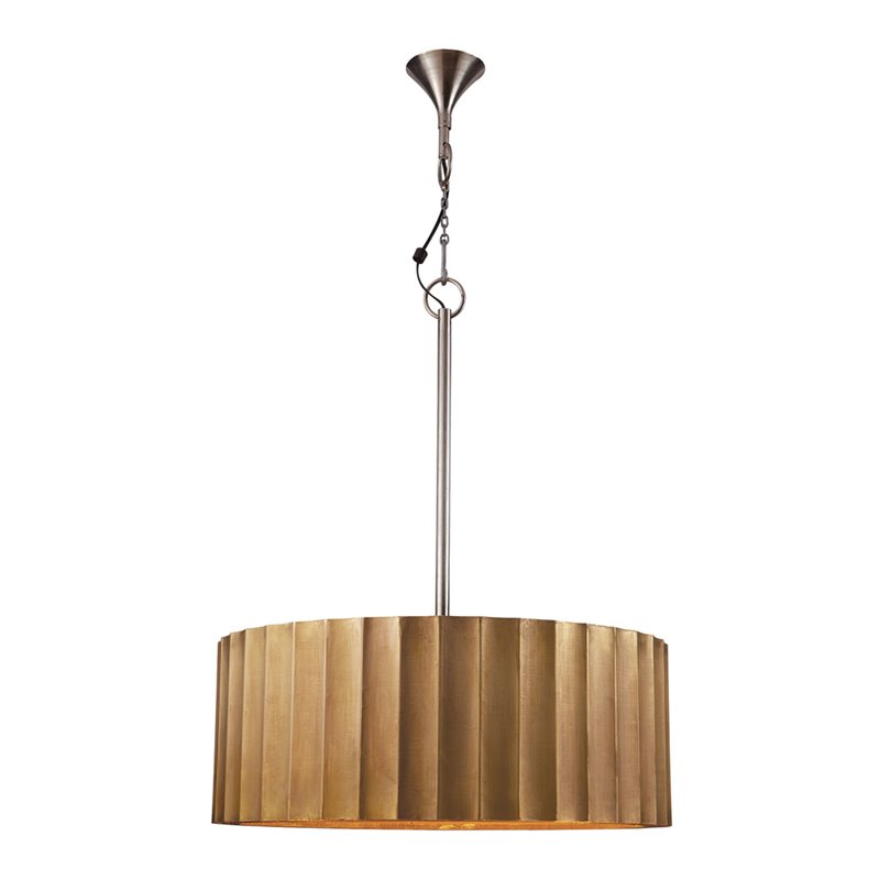 Dimond Home Brass Clad 2 Light Pendant in Gold 1443475