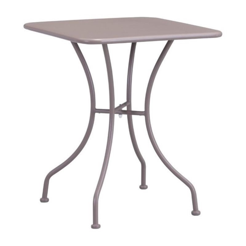 Brika Home Patio Dining Table in Taupe