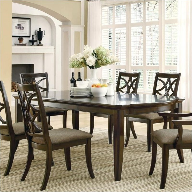 Bowery Hill Dining Table with Leaf Extensions in Espresso