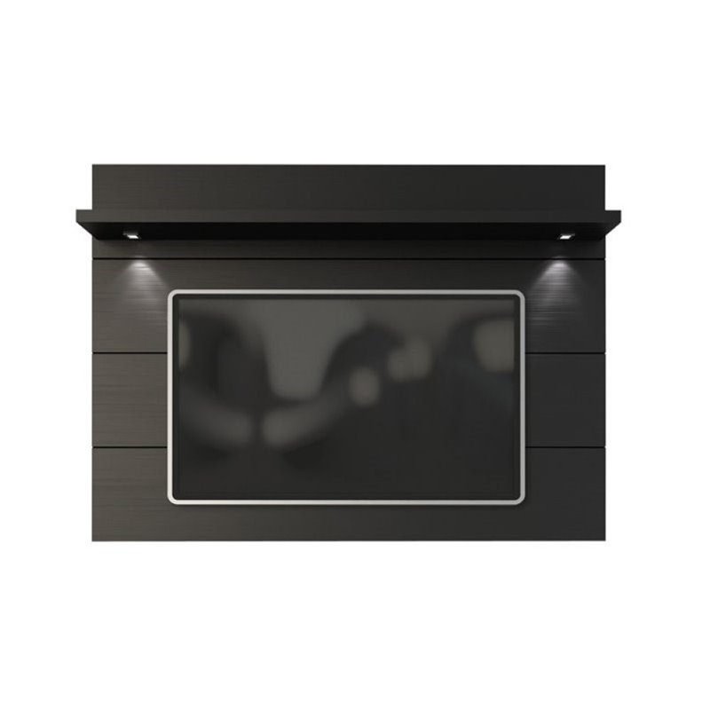 "Bowery Hill 71"" Tv Panel In Black"