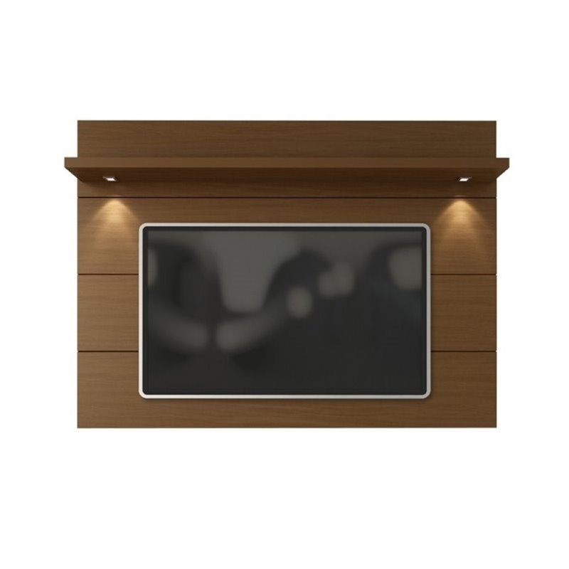 "Bowery Hill 71"" Tv Panel In Nut Brown"
