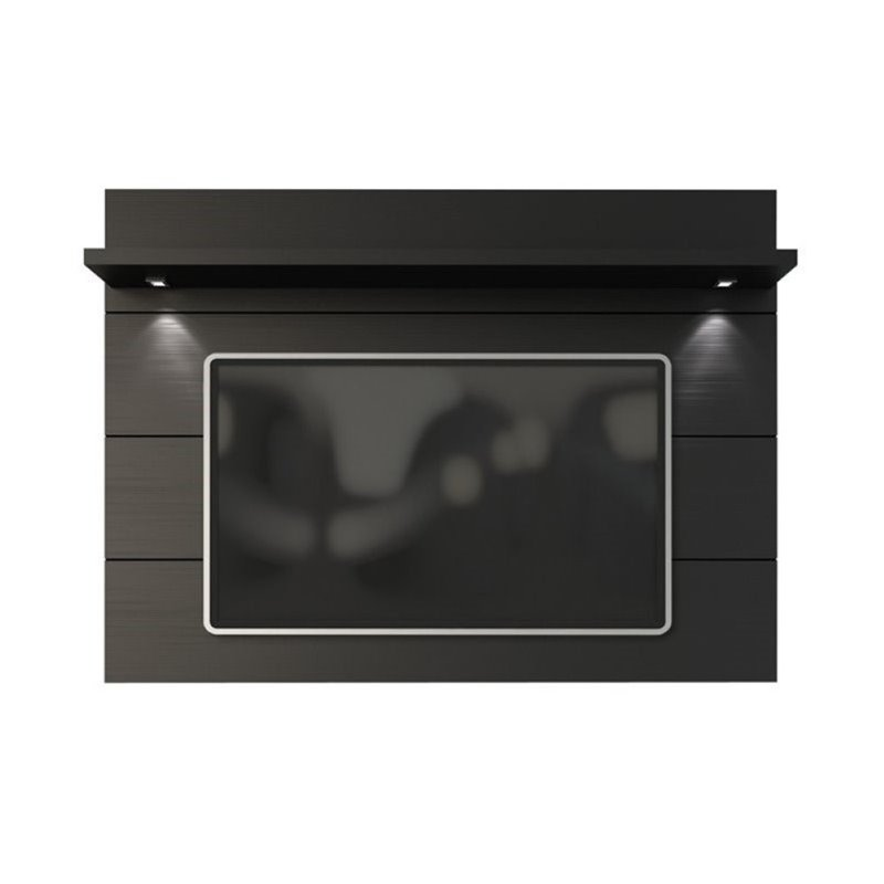 "Bowery Hill 86"" Tv Panel In Black"