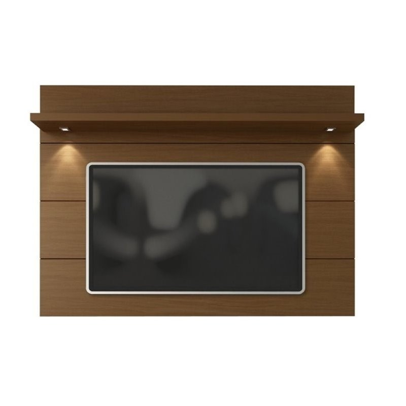 "Bowery Hill 86"" Tv Panel In Nut Brown"