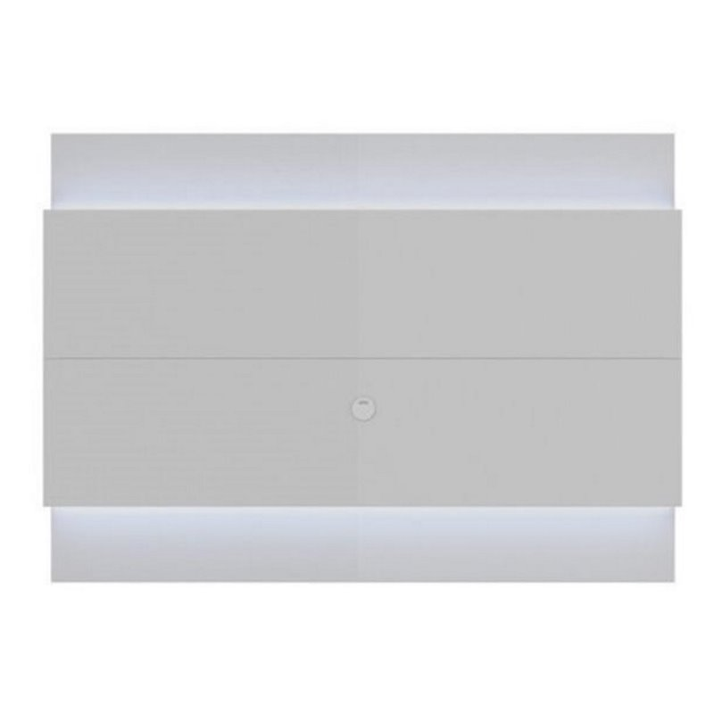 "Bowery Hill 77"" Led Tv Panel In Glossy White"