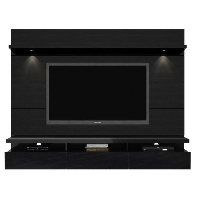 Bowery Hill 86 TV Stand in Black