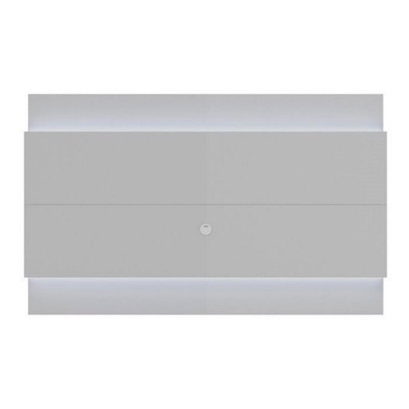 "Bowery Hill 87"" Led Tv Panel In Glossy White"
