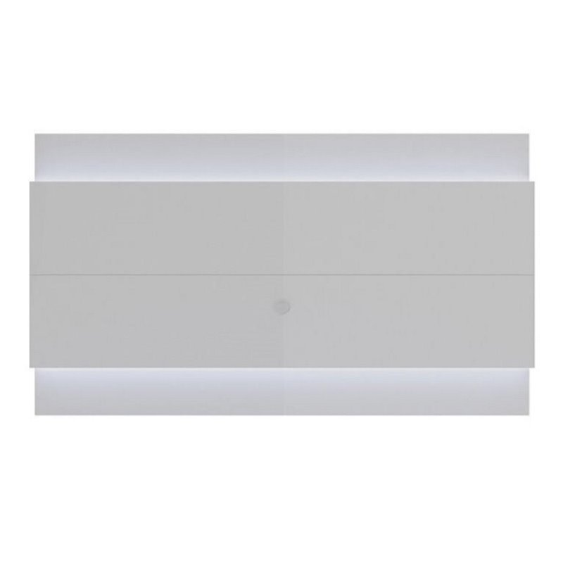 "Bowery Hill 95"" Led Tv Panel In Glossy White"
