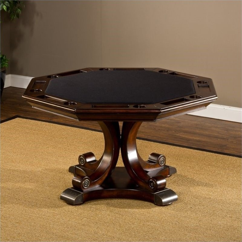 Bowery Hill Game Table in Rich Cherry 1576059