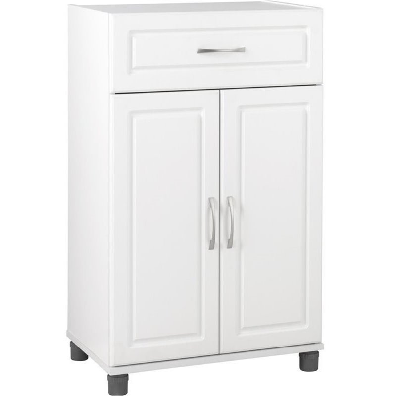 Bowery Hill Storage Cabinet in White Aquaseal