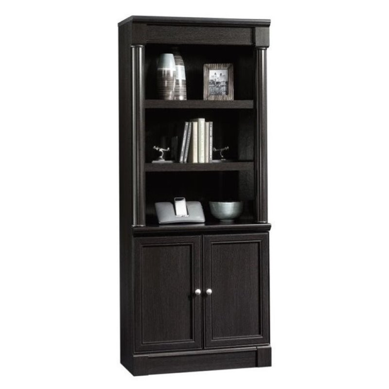 Bowery Hill 3 Shelf Bookcase in Wind Oak
