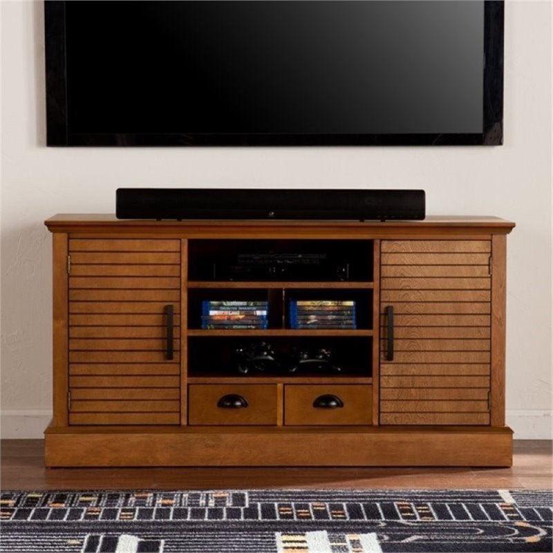 Bowery Hill 48 TV Stand in Walnut