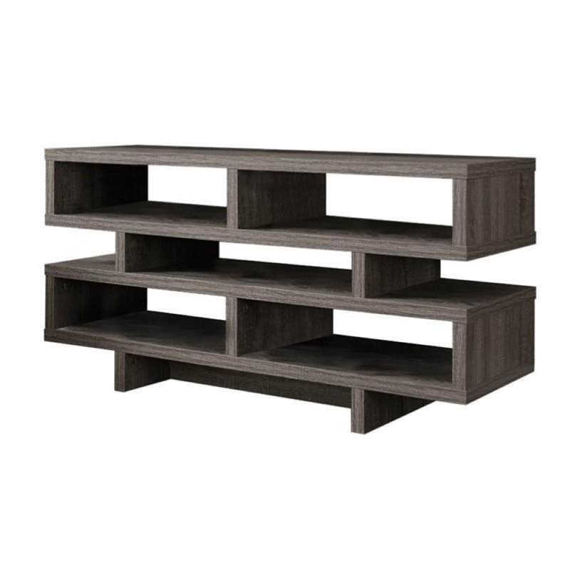 Pemberly Row  48 TV Stand in Dark Taupe