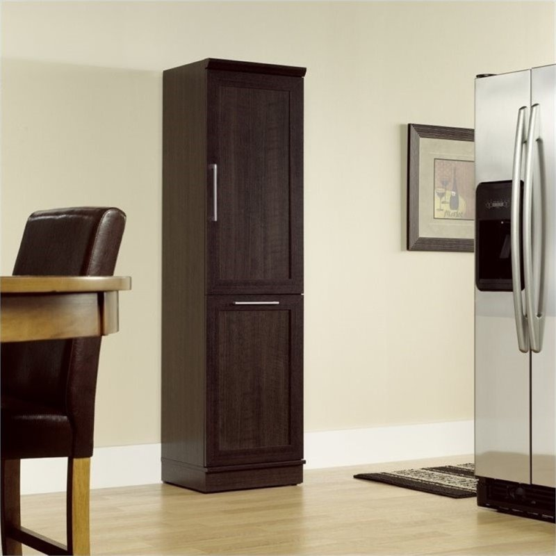 Pemberly Row Storage Cabinet in Dakota Oak PR-437657