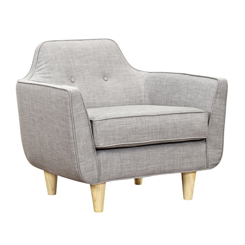 NyeKoncept Agna Armchair in Aluminium Gray