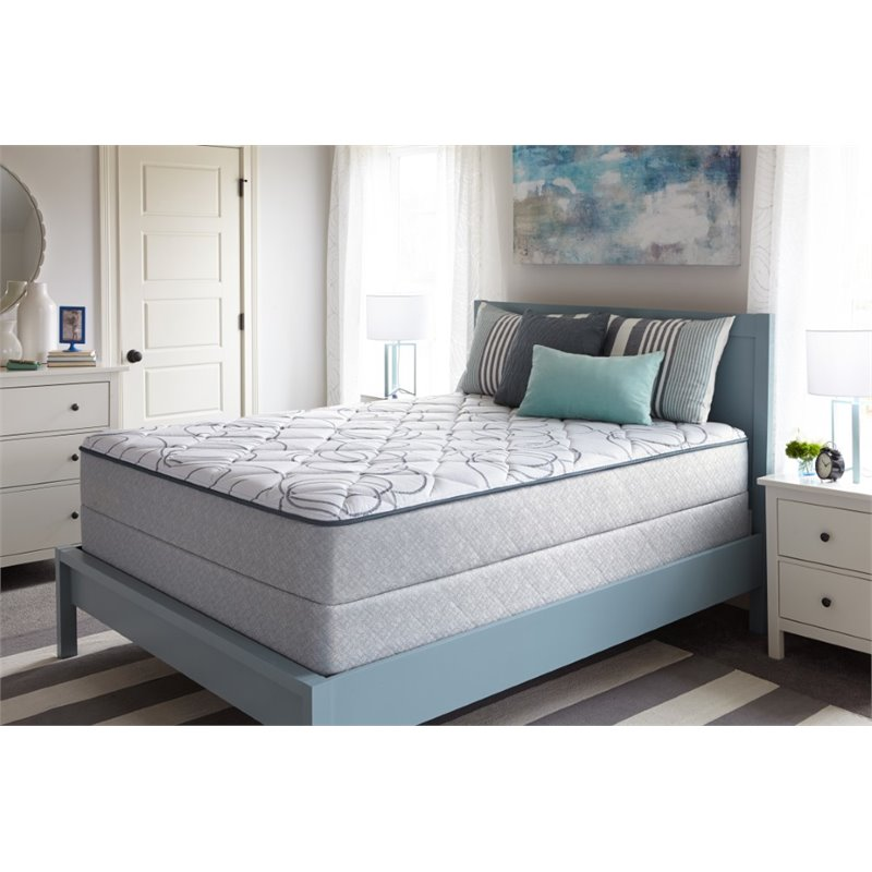 Sealy Villa Hills Firm Twin XL Low Profile Mattress Set