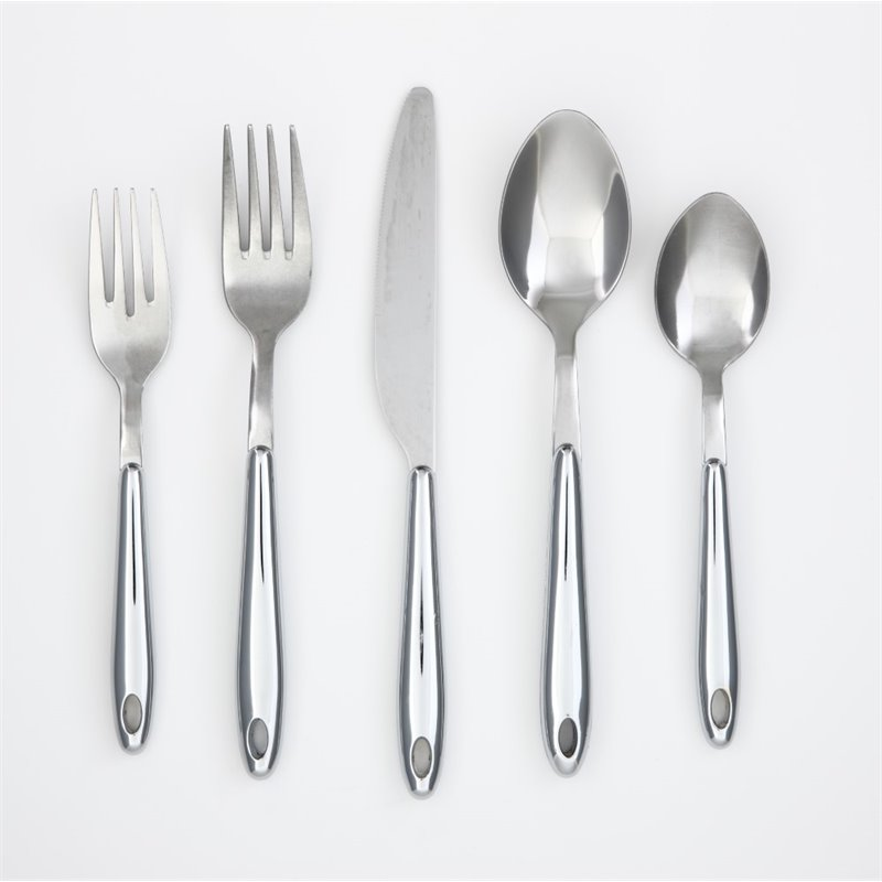 Cambridge Marvel 20 Piece Flatware Set with Rack