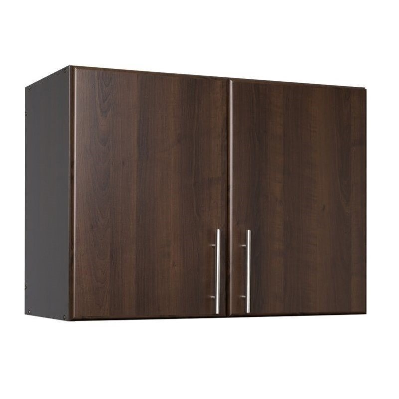 Hawthorne Collections 32 Stackable Wall Storage Cabinet in Espresso