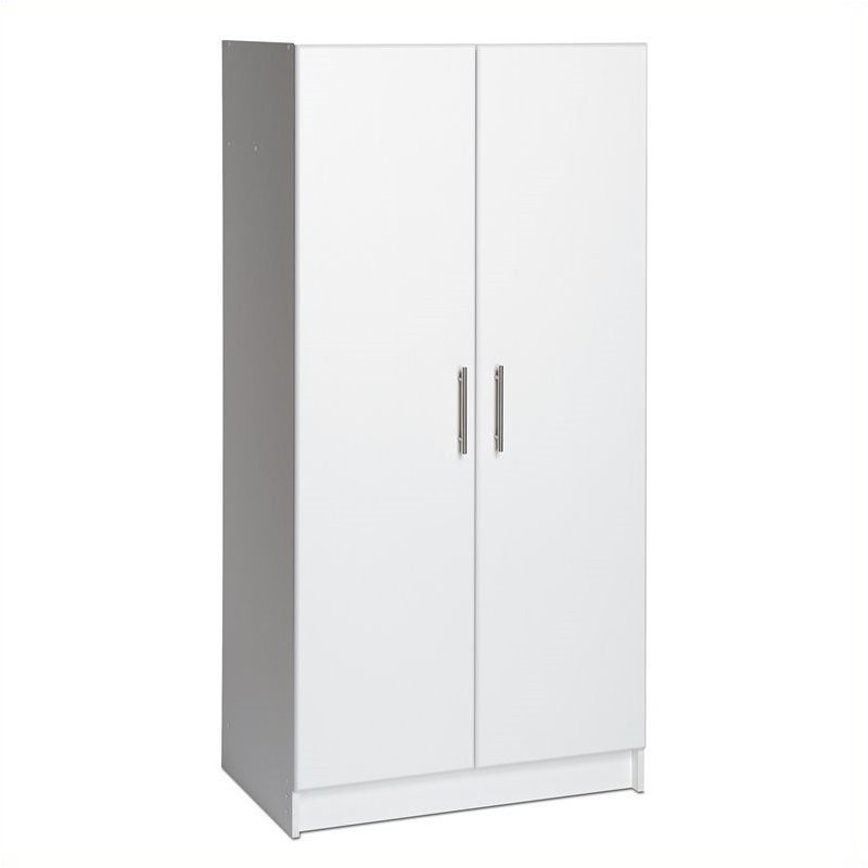Hawthorne Collections 32 Storage Cabinet in White