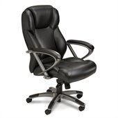 Mayline Utimo Executive High Back Chair in Black