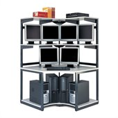 Mayline eLAN Computer Racking System - 48 Corner Station