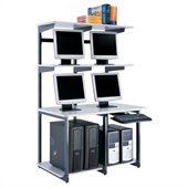 Mayline eLAN Computer Racking System - 48 LAN Station
